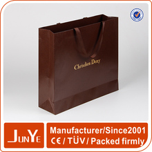 die cutting fashion clothes paper bag for clothing company