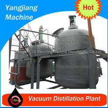Waste Car Oil Refinery Manufacture YJ-TY-17