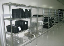 High competitive and high quality chromium plated iron wire mesh shelf