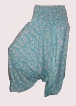 Summer Ladies Fashion Flower Patterns Harem Pants / Baggy Baggy Womens Harem Pants