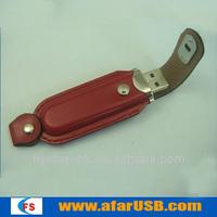 Mini Bukle Leather USB Stick,USB Flash Drive,USB Memory Disk