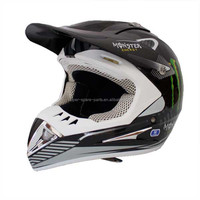 China off road parts Black Motocross Helmet