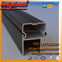 Natural Mate Anodizing white board Aluminum Extrusion