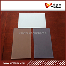 durable painted glass, 2-10mm white/black/red/blue painted glass for wall, furniture, lacquered glass with CCC/ISO
