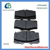 Auto brake pads for toyota Hi-Lux 04465-0k020 AUTO PARTS