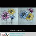 Pintura al óleo flor abstracta pintura al óleo para decoración de la pared