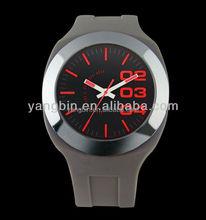 2015 wholesale transparent plastic watch wrist watch chinese
