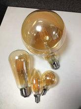 alibaba china 4W st64 LED filament bulb dimmable led decorative pendant bulbs e27 full glass led bulbs