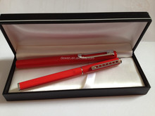 2015 NEW DESIGN ---High Quality Gift pen set for lovers with nice finish,metal pen