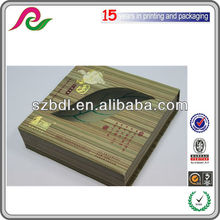 recycled paper packing box for cake packaging