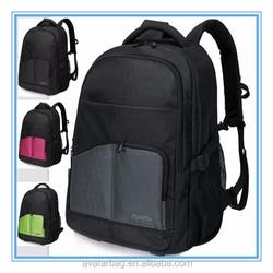 2016 custom logo waterproof nylon trolley backpack for 15.6 inches laptop