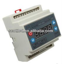 3 channel dmx dimmer 220v, output 0-10v signal dimmer,control led