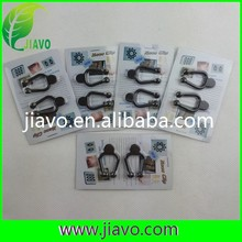easy using black Nose clip for healthy life, 2pcs per pair