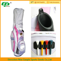embroidery logo pink nylon stand golf bag