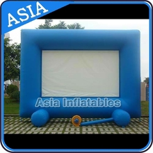 Inflatable Movie Screen For Outdoor Movie Enjoying and Advertising