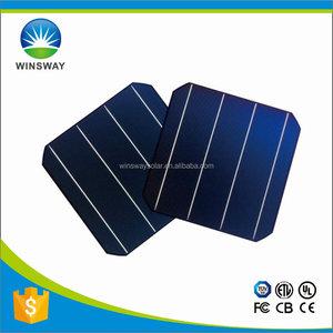 Günstig kaufen Hohe Effizienz Taiwan NSP/Motech/E-ton/Solartech Monokristalline Photovoltaik Zellen