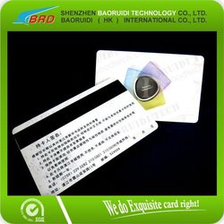 factory price credit card size printed magnetic smart card
