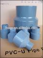 accesorios de tubería de pvc reductor para conectar la tubería