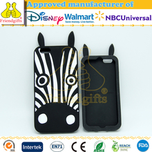 NBCUniversal audited factory animal shape silicone 3d printing phone back cover