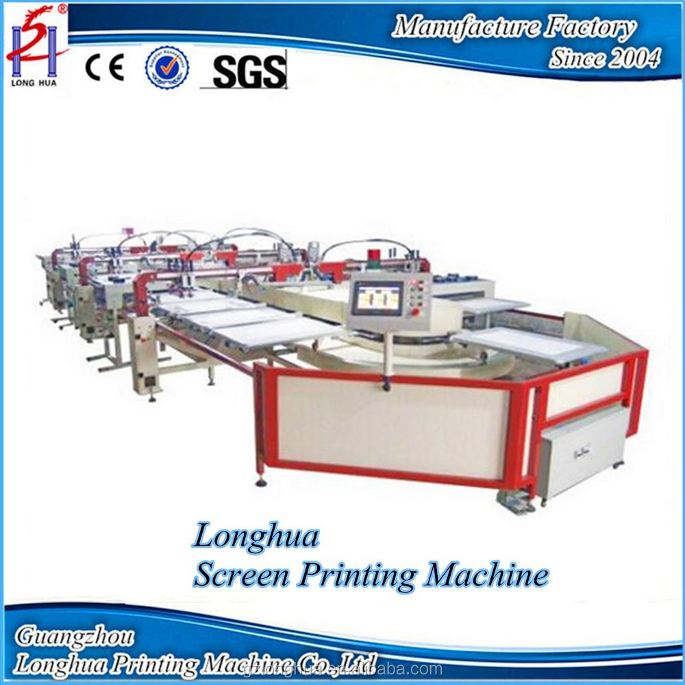 Multicolor automatic adult t shirt screen printing machine for T shirt screen printers for sale