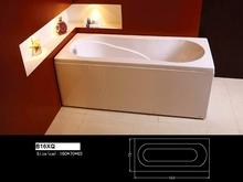 B16XQ Hot Sale Jets For Tub China Resurfacing Baths Supplier Corner Bathtubs Factory