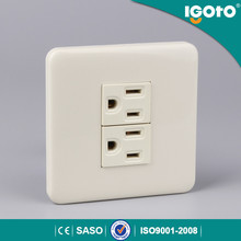 igoto American style philippine double wall socket 15A