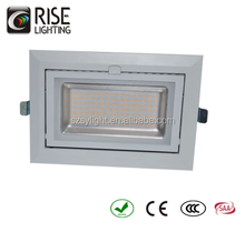 wholesale rectangular led shop light Retrofit recessed LED downlight replace HID CE C-TICK SAA with 3 years warrenty -Mickey