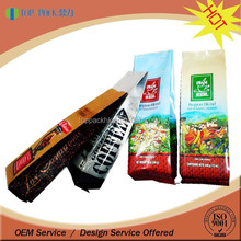 TOP PACK Factory Made Directly Laminated Plastic Coffee Packing Bag