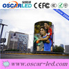 High reliability curve led flat panel display scrolling text led t-shirt panel p10 outdoor led billboard display