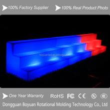 led light bench/salon waiting bench/waiting room bench