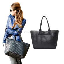2015 NEW Leather Handbag bags handbags women famous brands large capacity PU weave bags fashion design