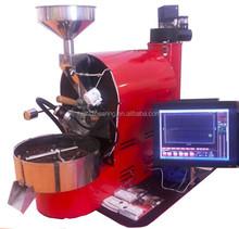 Automatic Electric & Gas 1 kg 2kg 3kg 5kg 6kg 10kg 20kg 30kg/coffee roasting machine /commerical industrial 1kg coffee roaster