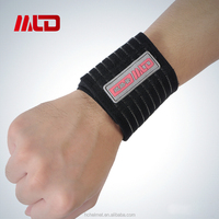 Hot Sell Adjustable Wrist Support for Gym Sport Elastic Wrist Band Bandage Support Sports Wrist Band With OEM Service