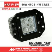 16W Square mini LED work Light 16W led car driving light /16W LED worklights / LED flood Light