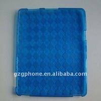 TPU Case with Grid Pattern for iPad2