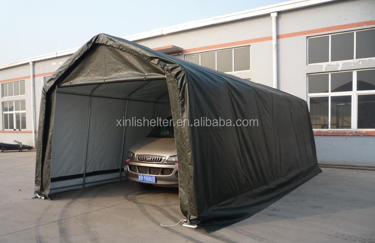 Portable Garage Enclosures : Car carport retractable portable enclosure buy