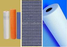 Anping factory fireproof mesh fiberglass square mesh netting , fiberglass mosaic tile mesh netting