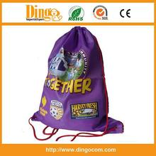 besting selling logo printed linen drawstring bag / Drawstring bag /Customized drawstring bag