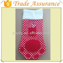 hot sale christmas stocking like Animal feet christmas decoration