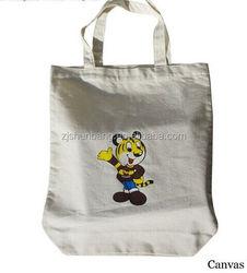 heavy duty cotton canvas shoulder bag/ eco-friendly cotton drawstring bags/ custom logo cotton pouch