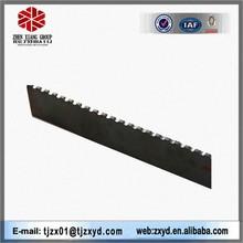black standard size lHOT ROLLED a36 q235 slitting Serrated flat bar