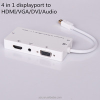 Wholesale 4 in 1 multifunction mini digital audio cable connectors converter cable
