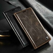 Classic Vintage Leather Wallet Flip Case Cover for Galaxy S6 Edge Plus & Note 5 & S6, S6 Edge