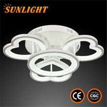 Acrylic and Iron indoor modern Durable and warm color LED false lighting ceiling lamp