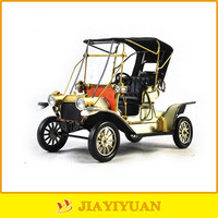 1912s White Old Classic Ford Antique Model Cars for decoration
