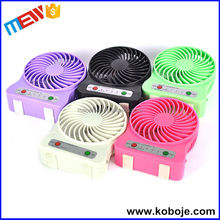 Hot Selling 3 Speed Wireless Rechargeable 18650 Battery Air cooler fan