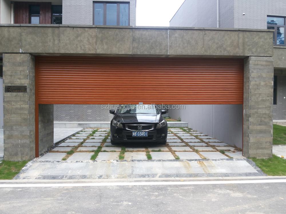 European Motor Remote Control Insulated Optical Roller Shutter Window/Kitchen Shutter Doors