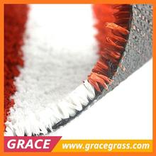 Synthetic Grass Red for Running Track