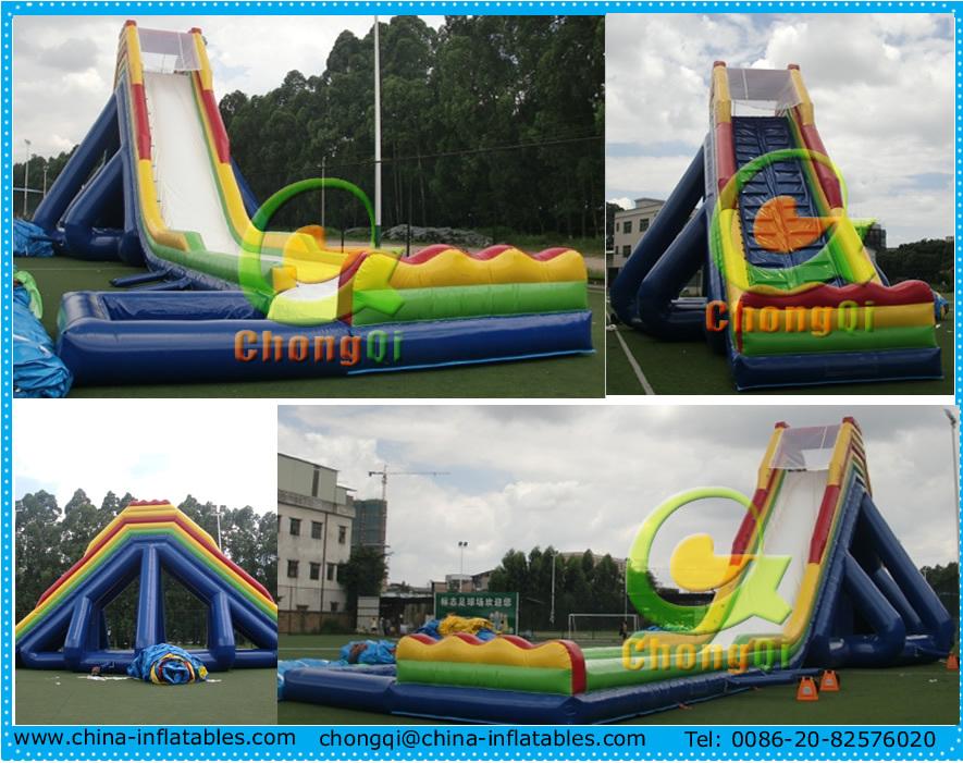 Grande slides corrediça inflável gigante para venda
