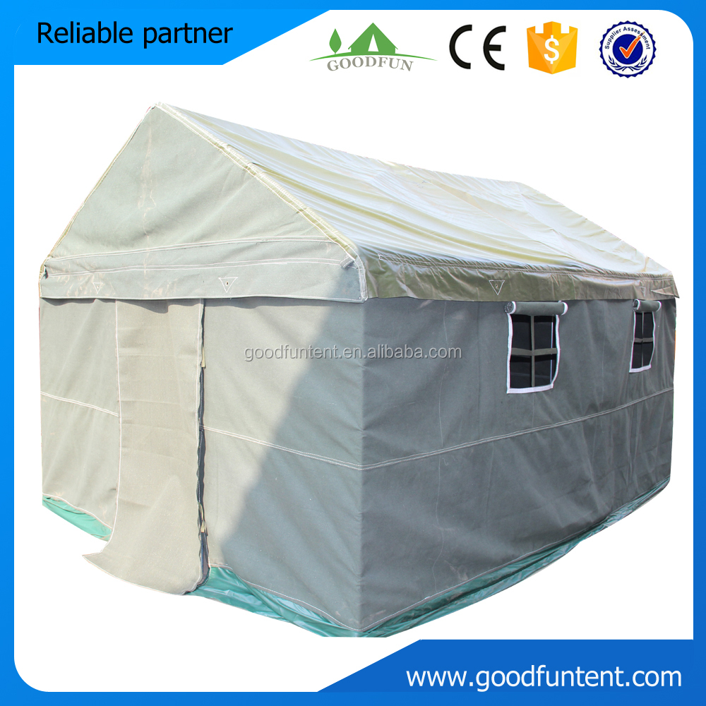 Waterproof and duarable shelter army wall cheap tent for Cheap wall tents for sale